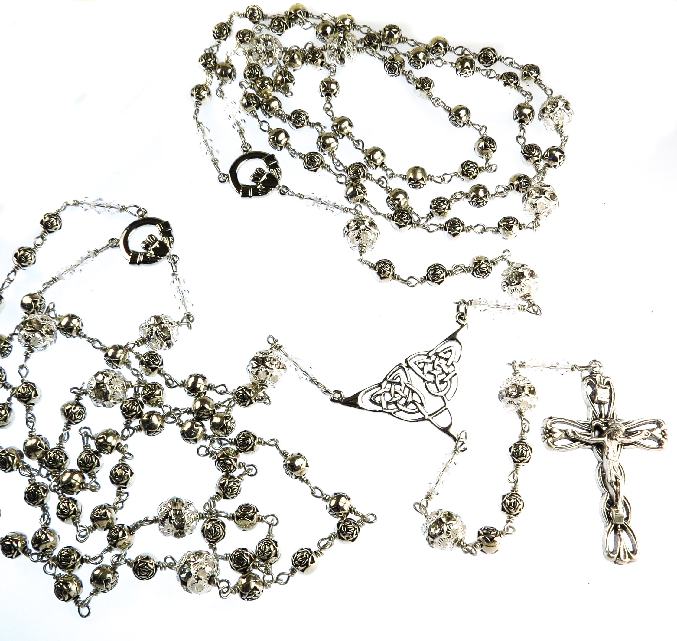 Catholic Rosary Wedding Lasso el Lazo de Boda Handmade Unbreakable
