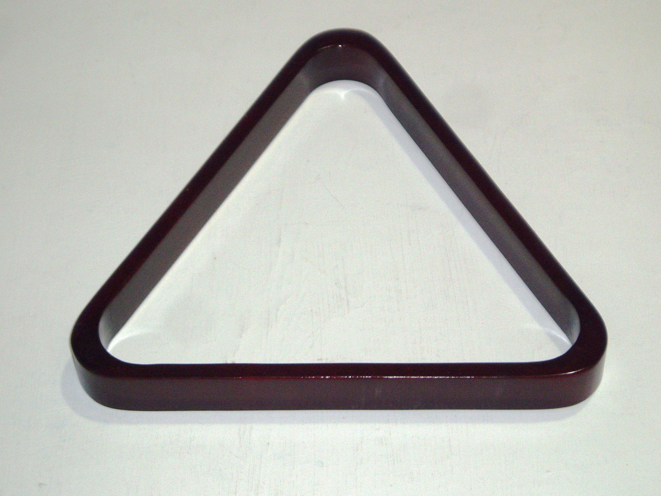 SGL Full Size Mahogany Snooker Triangle (S348)