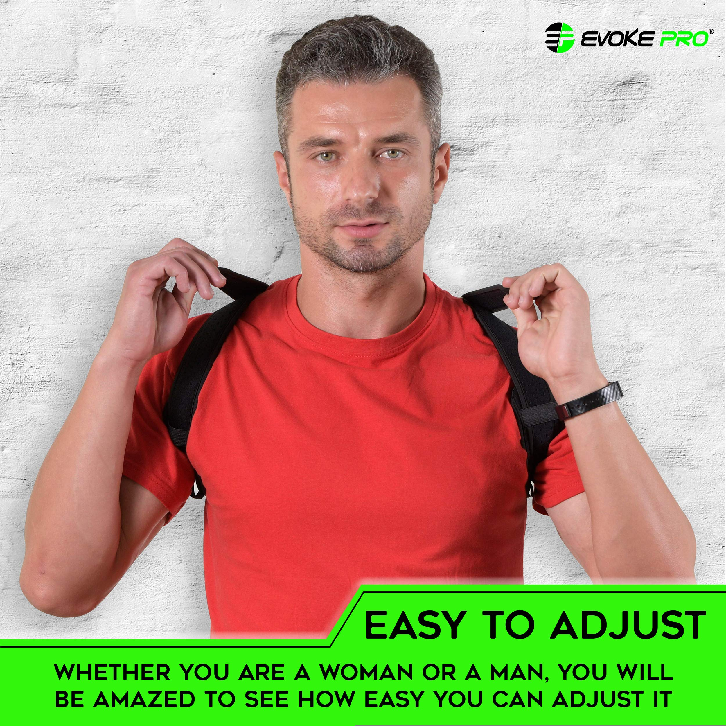 a8560354b3d Back Posture Corrector for Women and Men - Upper Back Brace Clavicle Support  Device for Thoracic