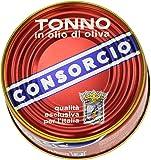 Consorcio - Tonno in Olio di Oliva - 2 scatolette da 111 g [222 g]