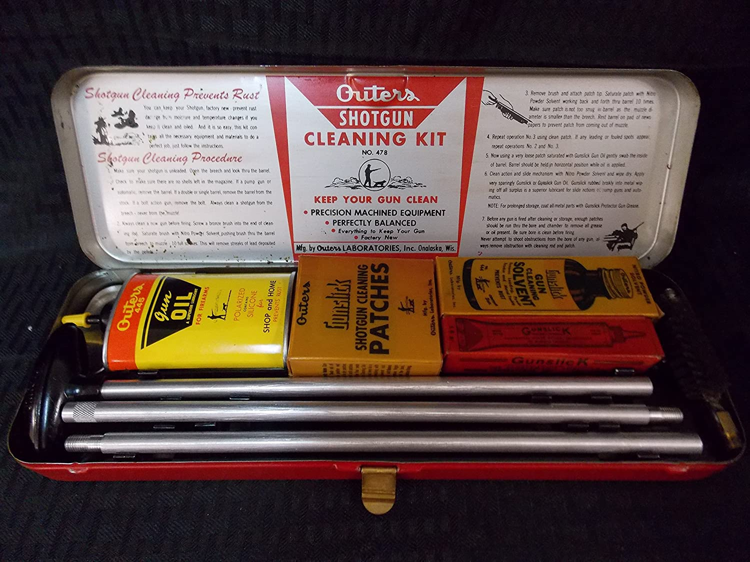 Outer's Laboratories Vintage Gun Cleaning Kit