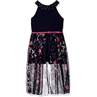Beautees Girls Maxi Romper Sleeveless Casual Dress