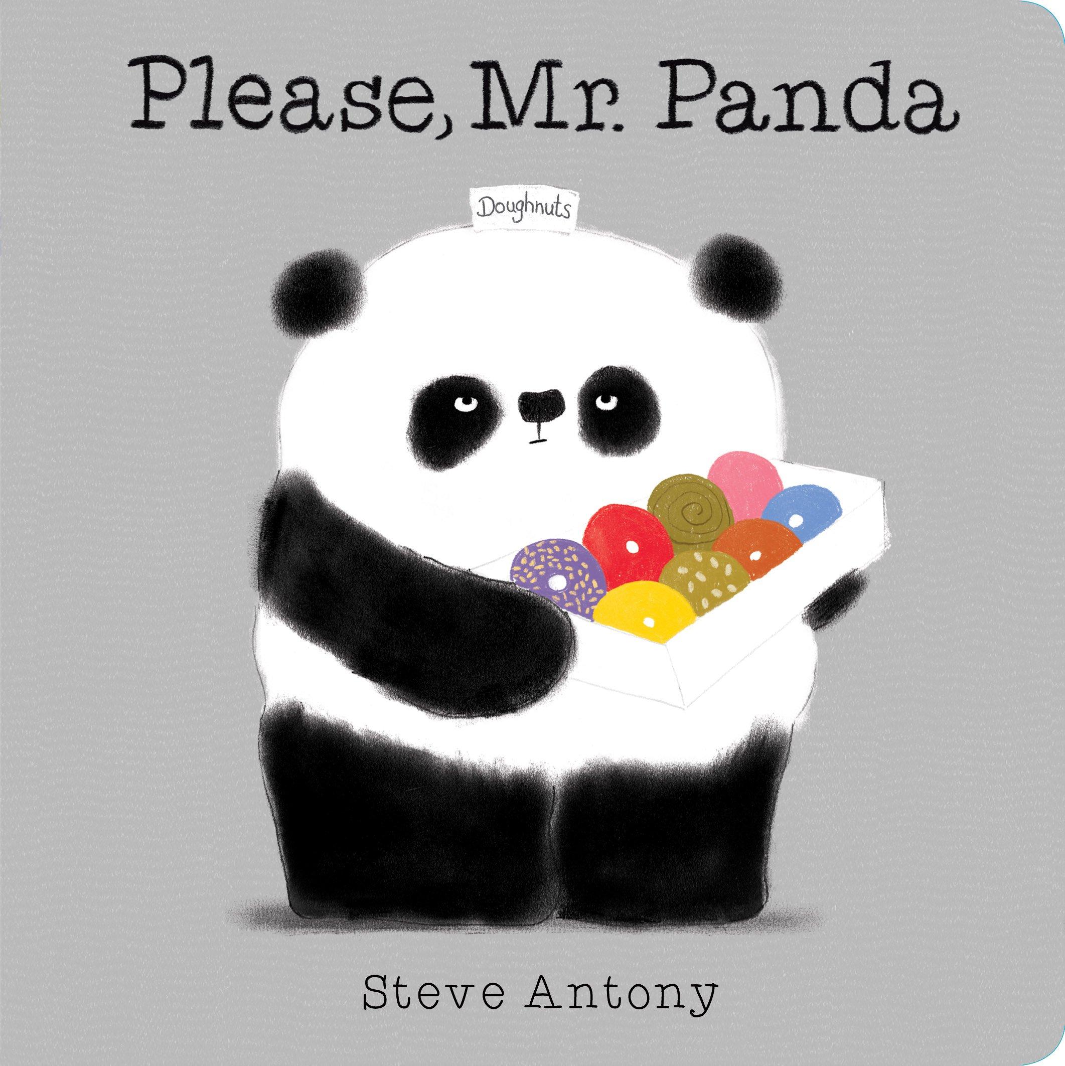 Please, Mr. Panda (A Board Book): Antony, Steve, Antony, Steve:  9781338106480: Amazon.com: Books