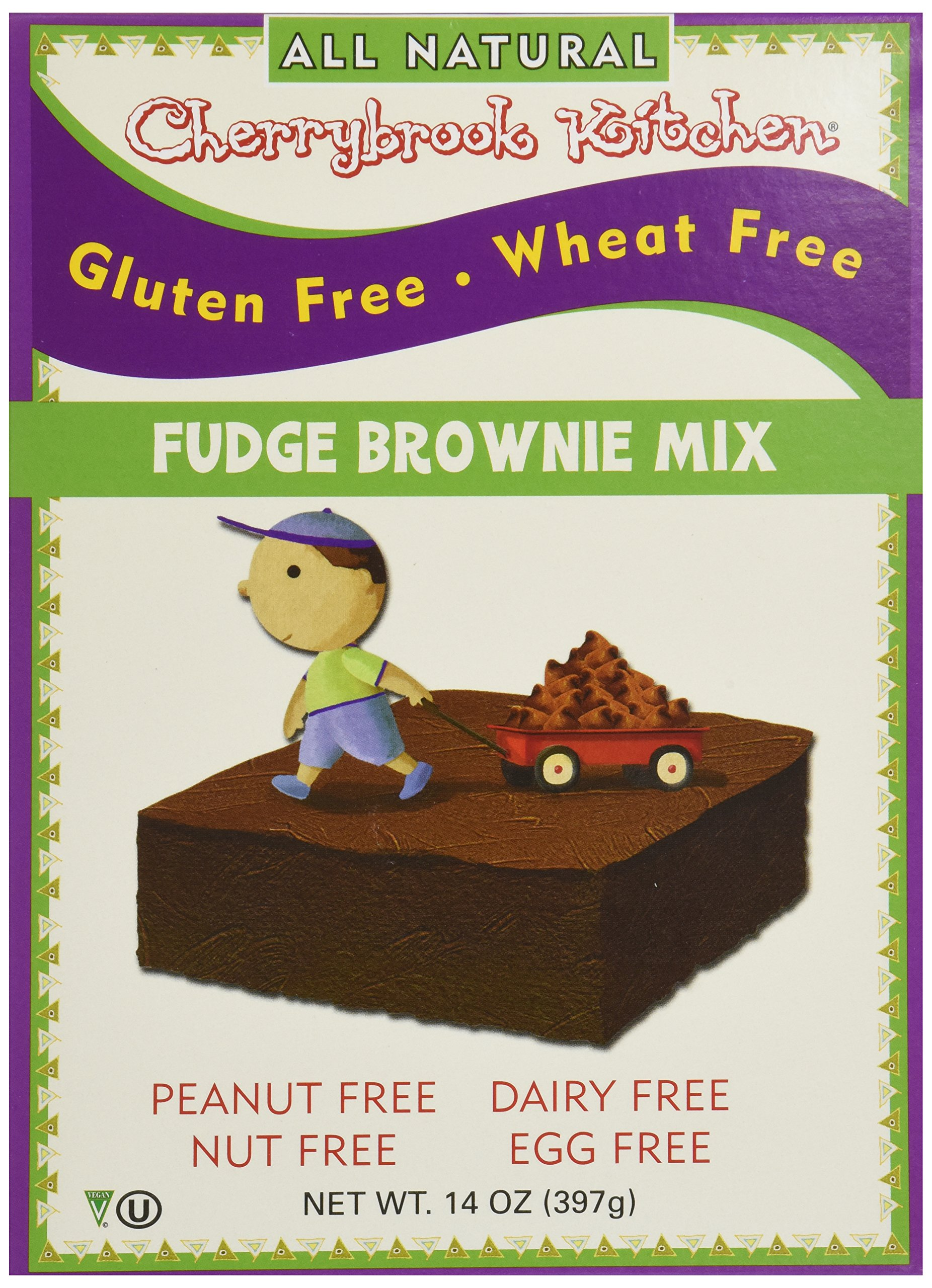Cherrybrook Kitchen Gluten Free Dreams Fudge Brownie Mix 14 oz 397 g by Cherrybrook Kitchen