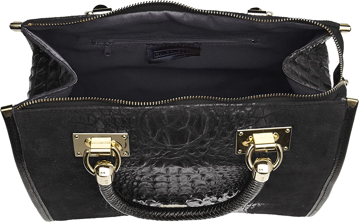 Chicca Borse Women/'s 80044 Bowling Bag