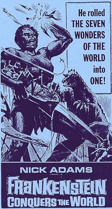 THE WAR OF THE GARGANTUAS /& FRANKENSTEIN CONQUERS THE WORLD Material book JAPAN