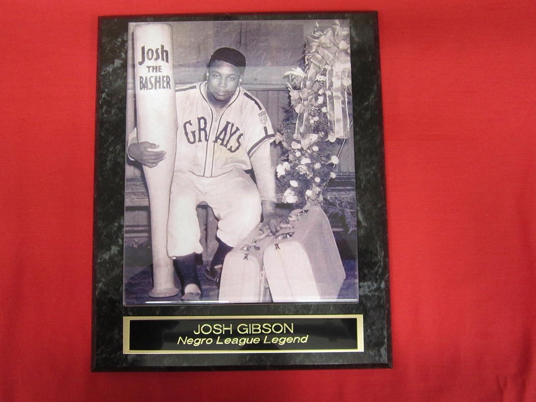 Josh Gibson Negro Leagues Collector Plaque w/8x10 RARE PHOTO J & C Baseball Clubhouse