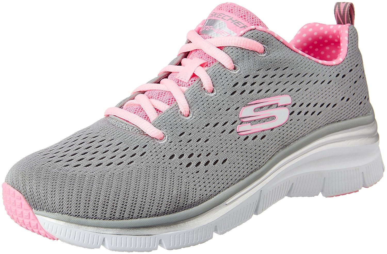 SKECHERS zapatos bajos de las zapatillas de deporte de las mujeres 12704 GRIS 37 EU|GRIS