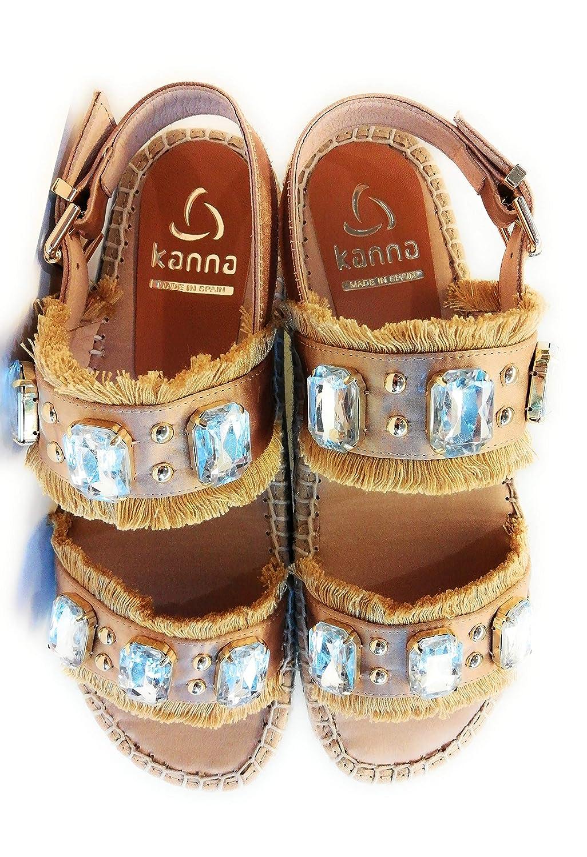 Kanna Camel , Damen Espadrilles Beige Camel Kanna - 45eacb