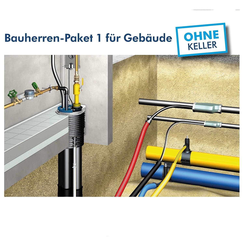 Quadro-Secura® Nova BP⁺ Bauherren-Paket 1 für Gebäude ohne Keller ...