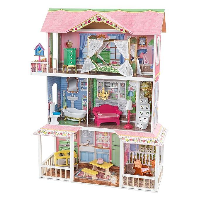 KidKraft Puppenhaus Aus Holz Sweet Savannah: Amazon.de: Spielzeug