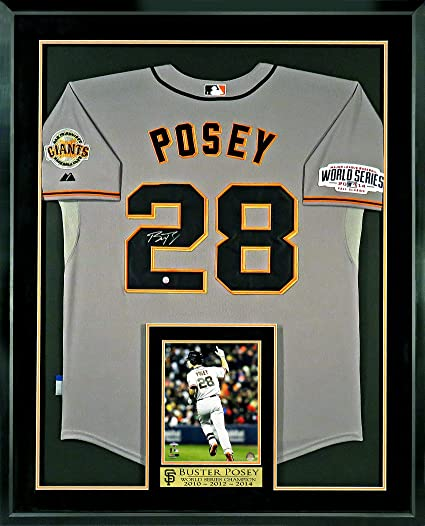 check out 9a7c7 54627 authentic buster posey world series jersey 764e8 55120