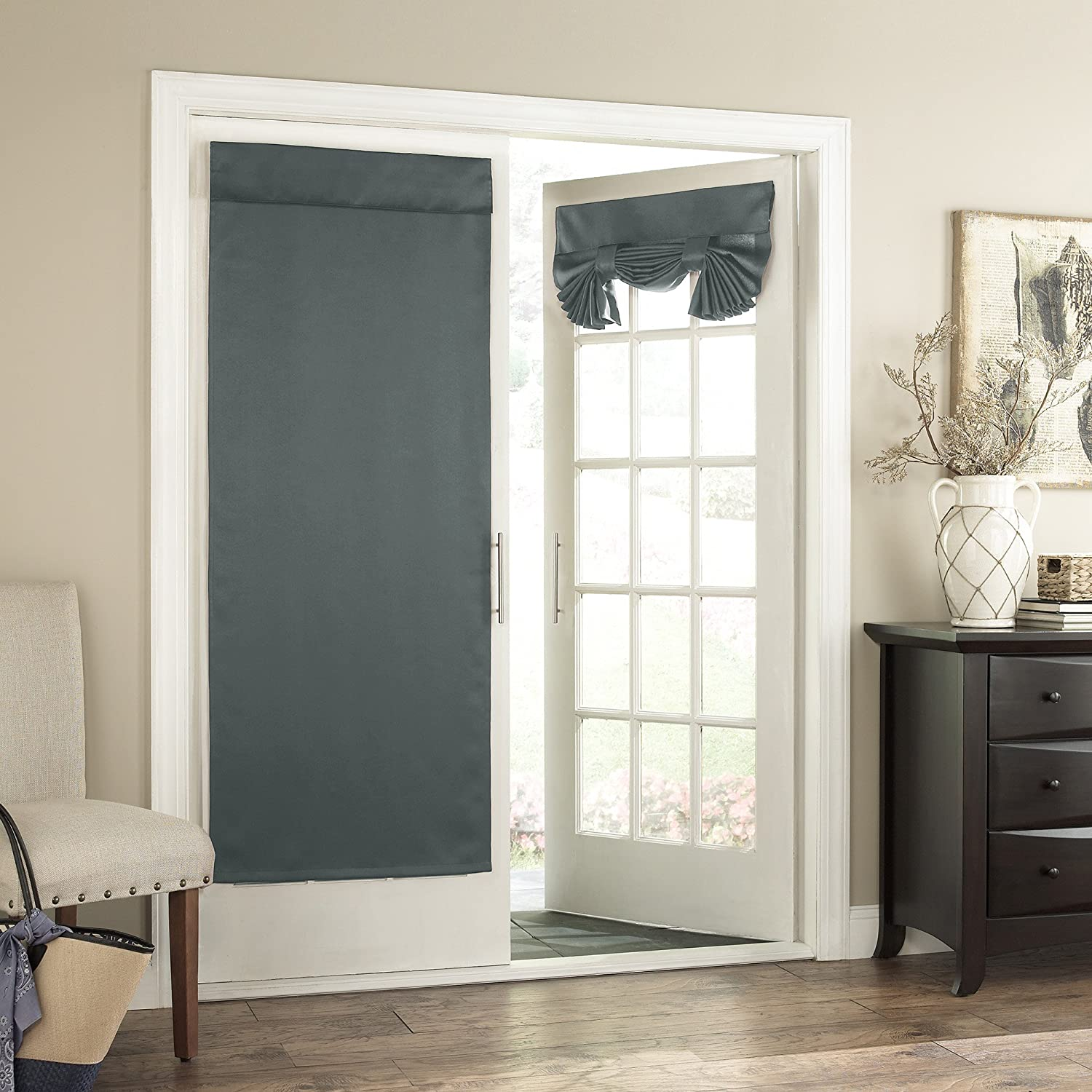 blue inch amazon panel tricia thermal com home by curtain single curtains river dp eclipse door kitchen