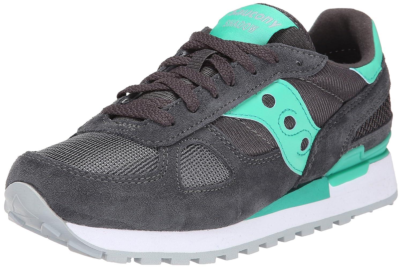 Charcoal Teal Saucony Women's Shadow Original Low-Top Sneakers