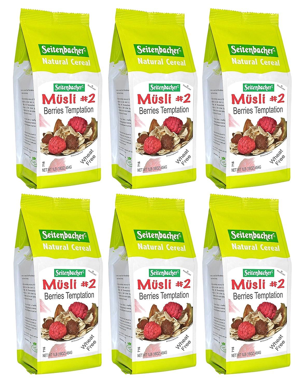 Seitenbacher Musli #2 Berries Temptation, 16 Ounce