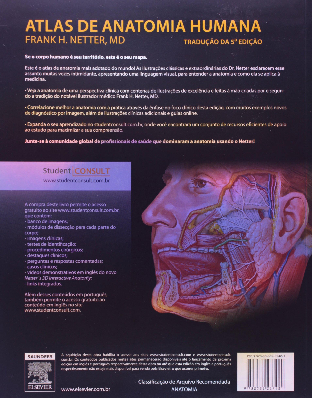 Netter. Atlas de Anatomia Humana Em Portuguese do Brasil: Amazon.de ...