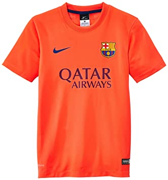 Nike Fc Barcelona Away Supporters - Camiseta de fútbol, color gris, talla L