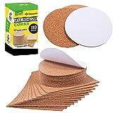 Self Adhesive Cork Squares and Round - Premium 110