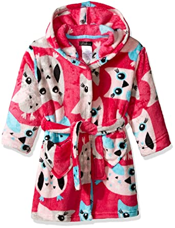 Amazon.com  Cuddl Duds Girls  Big Kids Robe 8b505a603