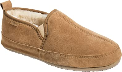 9a56d2d11995 Image Unavailable. Image not available for. Color  Overland Men s Owen  Sheepskin Slippers
