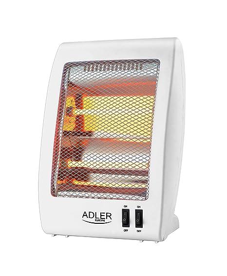 Adler AS7709 Estufa de Cuarzo radiador halogeno, plastico ...