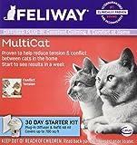 CEVA Animal Health D89410B Feliway MultiCat Starter Kit, 48ml