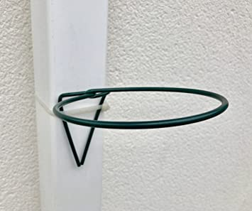 Gardening Gift 6 Plant Pot Holders Pipe Rings Hang 6 Pots On Drain