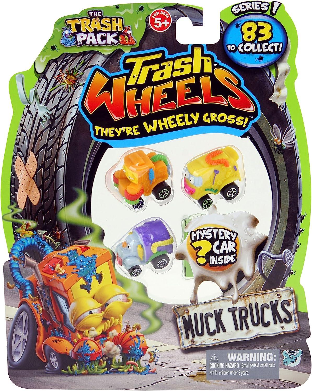 Trash Wheels (Giochi Preziosi 68140) - Blister de 4 vehículos ...