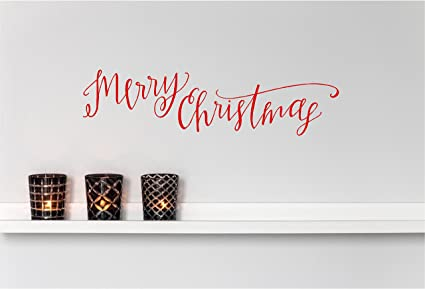 Amazon com: Epic Designs Home Wall Decal Decor - Merry