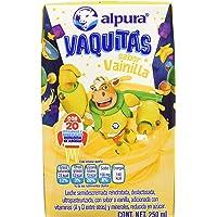 Alpura Leche Saborizada, Vainilla, 250 ml