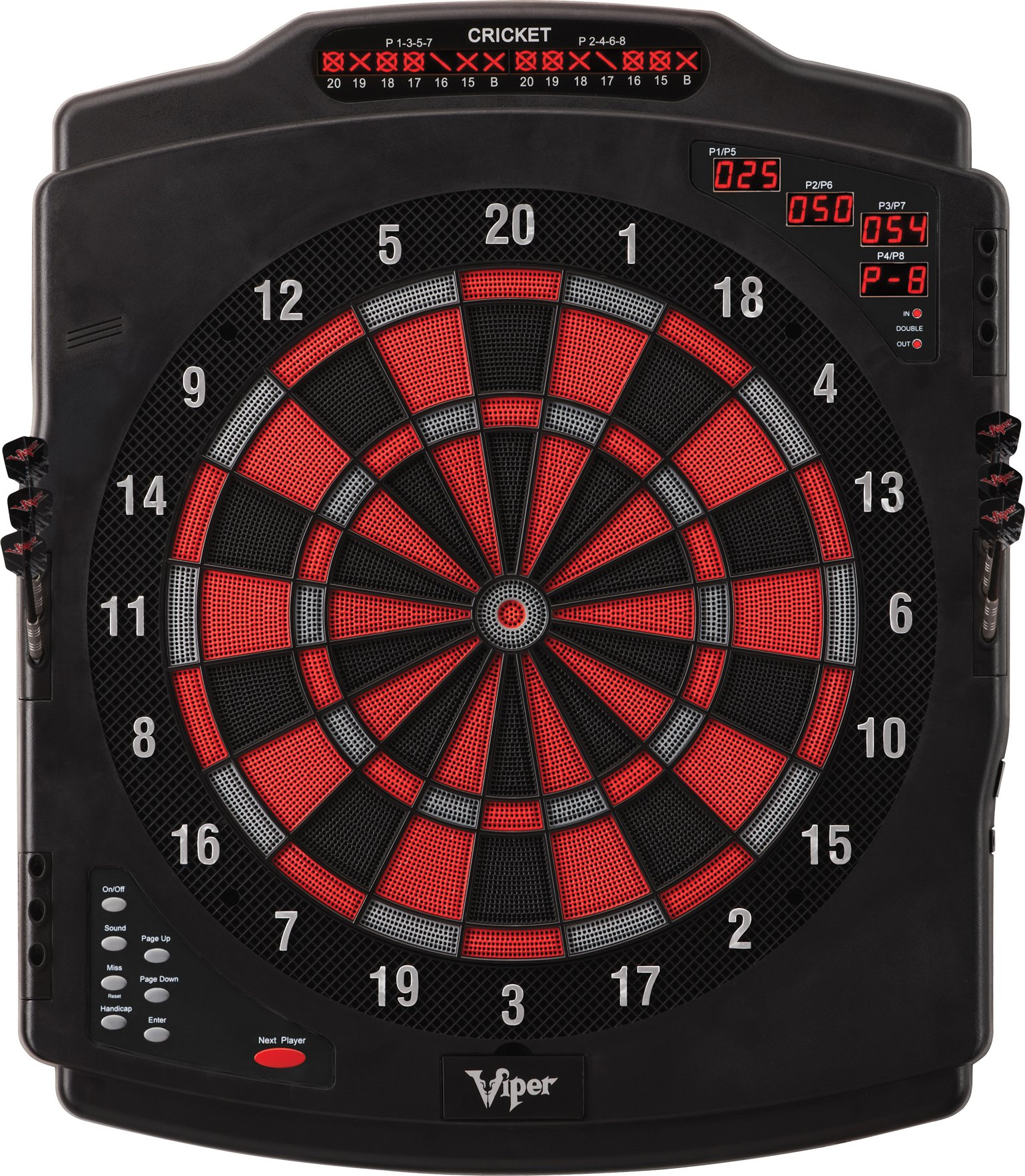 Viper Eclipse II Electronic Soft Tip Dartboard