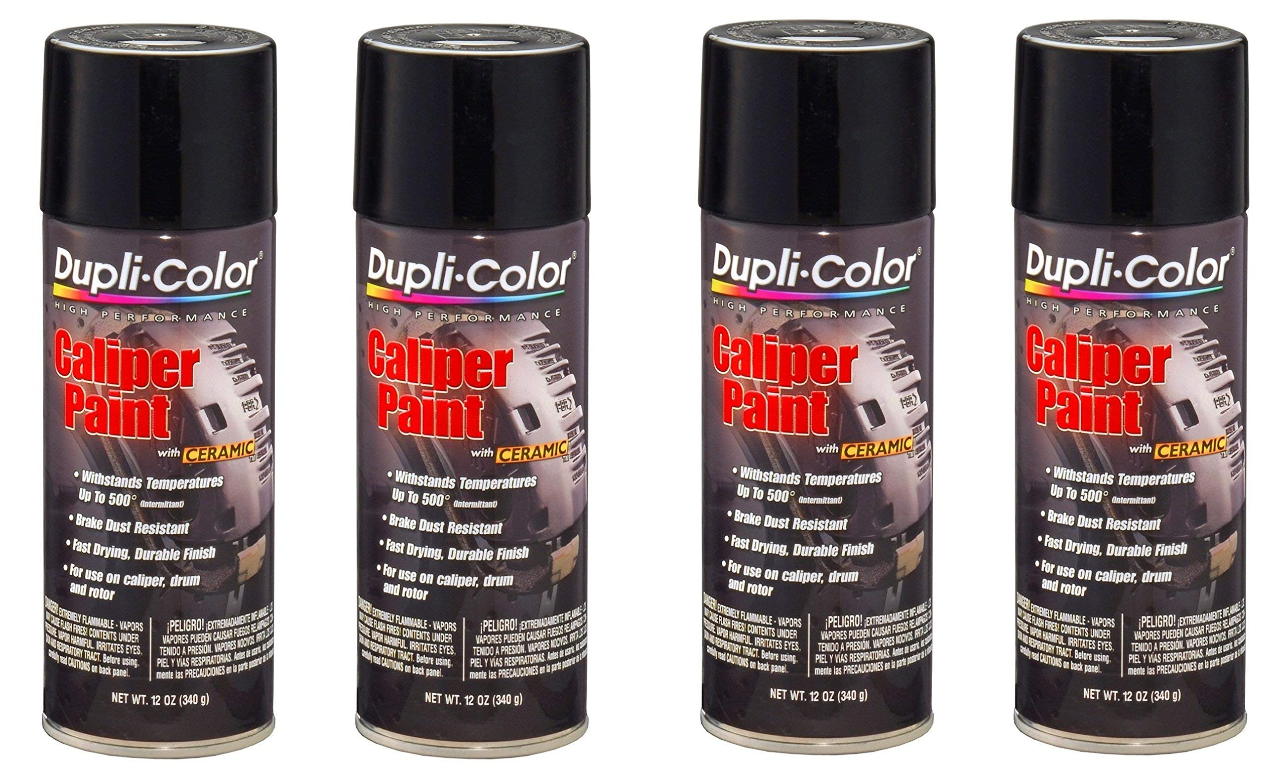Dupli-Color ® Paint Bcp105 Matte Blk Caliper Aerosol (4)