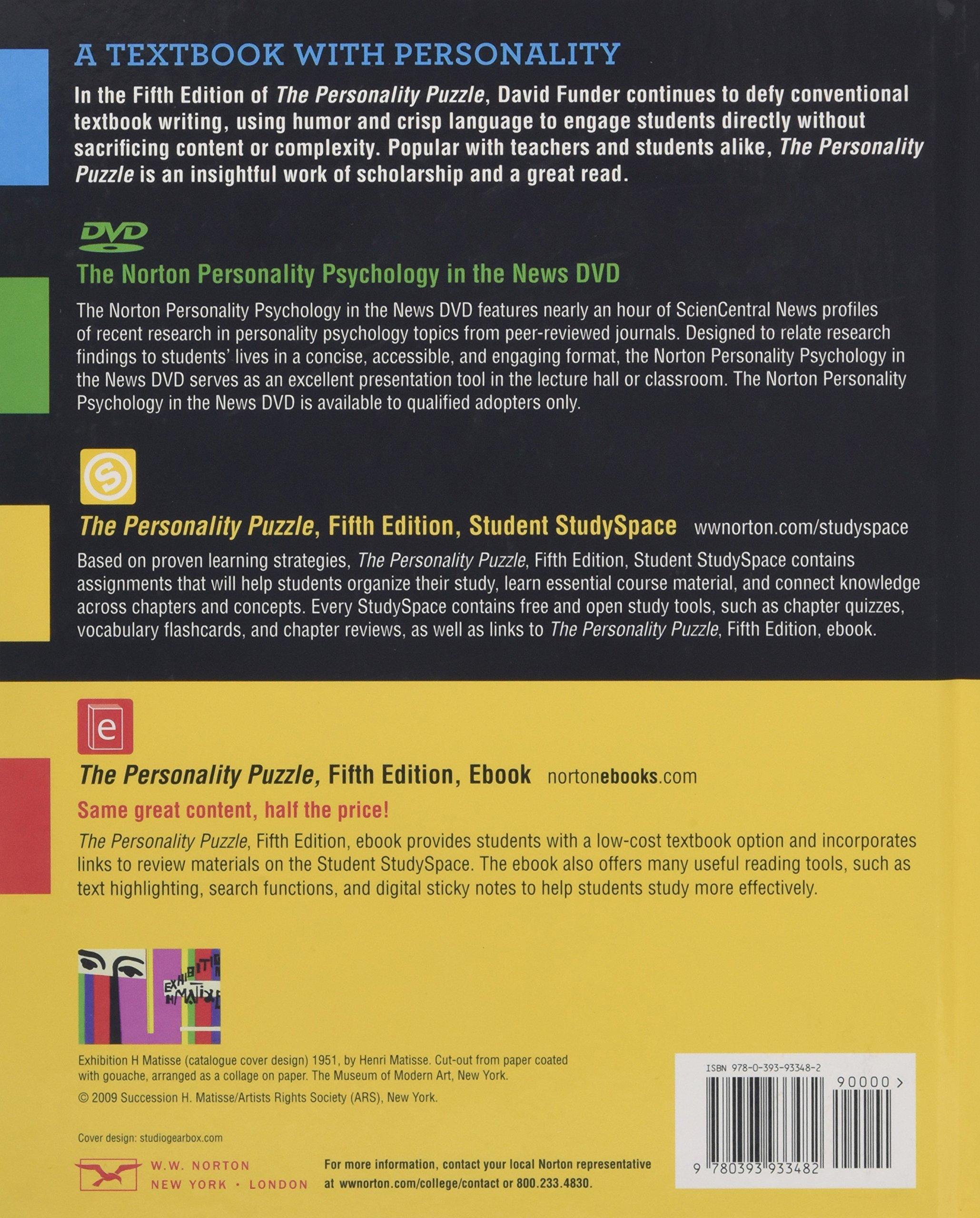 The personality puzzle amazon david funder 9780393933482 books fandeluxe Images
