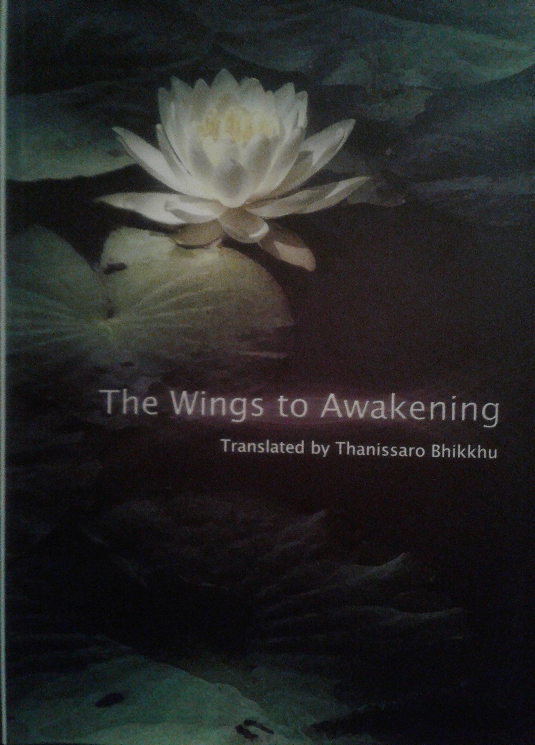 Thanissaro Wings to Awakening cover art