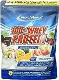 IronMaxx 100% Whey Protein / Wasserlösliches Proteinpulver / Eiweißpulver mit Dark Ecuador Chocolate Geschmack / 1 x 500 g Beutel