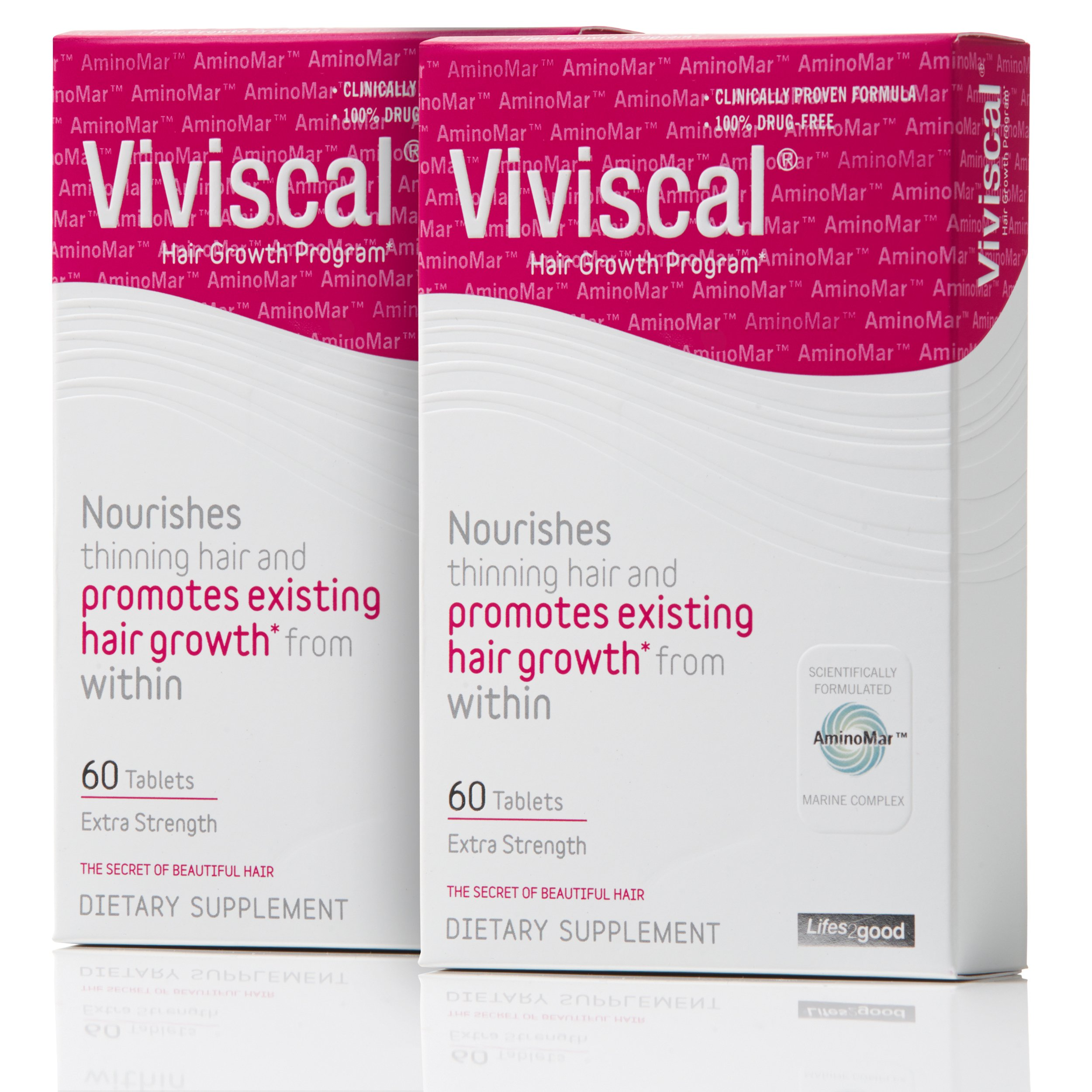 Viviscal Extra Strength Hair Nutrient Tablets, 120-tablets by Viviscal (Image #3)