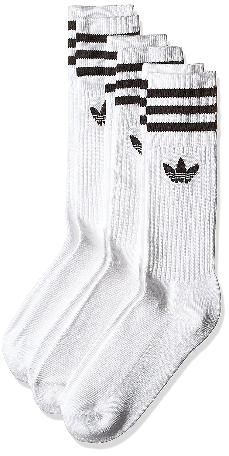 best loved 100% authentic wholesale outlet adidas 3 Paar Solid Crew Socken