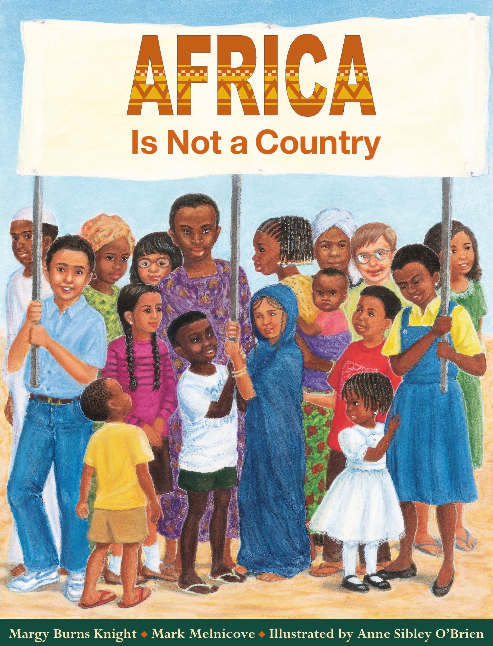 Children's Books About Countries of the World featured by top US travel blogger, Marcie in Mommyland: Africa is Not a Country