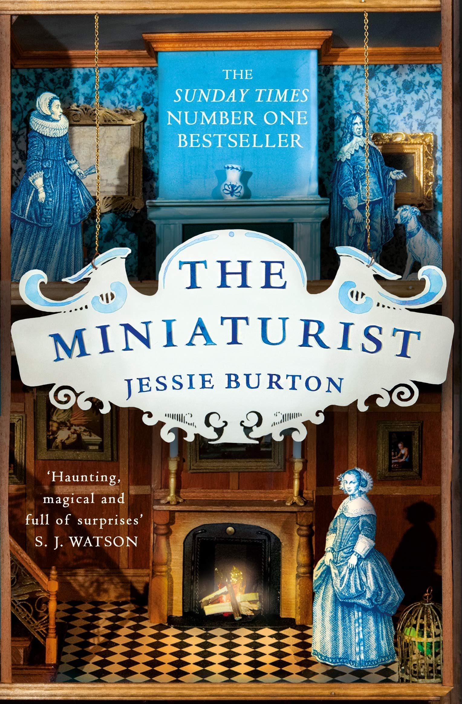 the book cover for the miniaturist by jessie burton