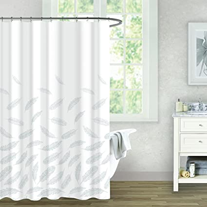Balmont Collection Falling Feathers Shower Curtain 72quot