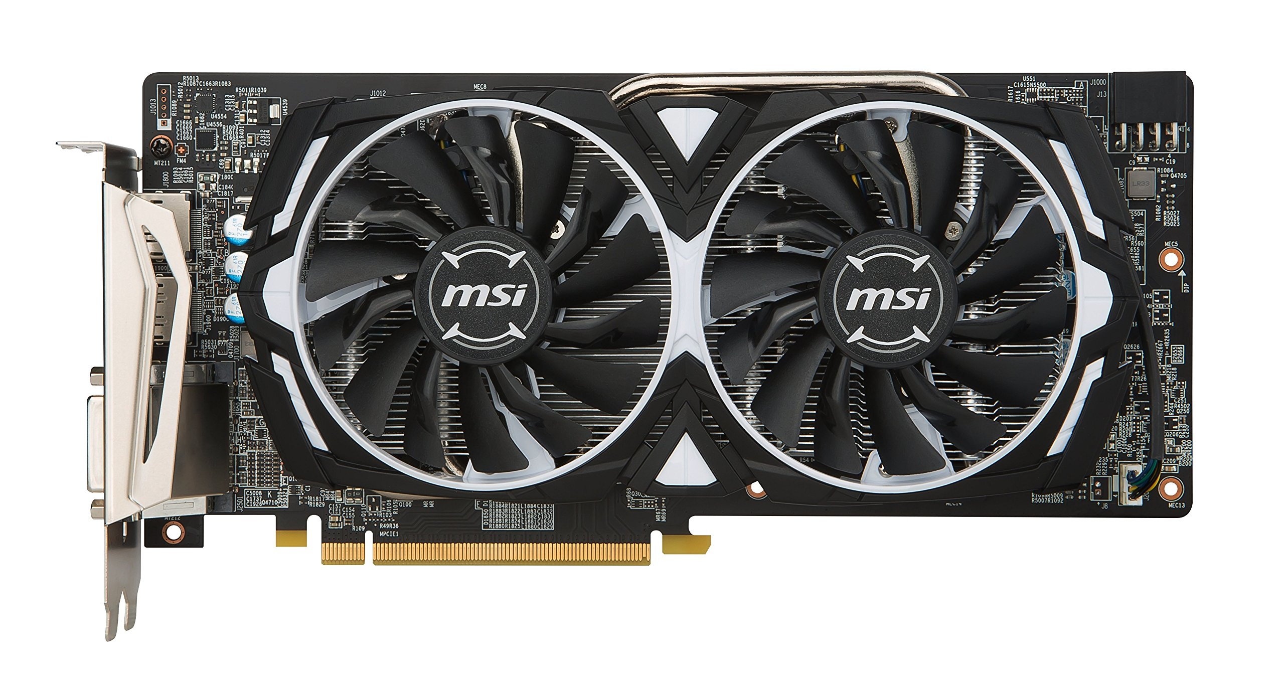 MSI VGA Graphic Cards RX 580 Armor 8G OC by MSI (Image #3)