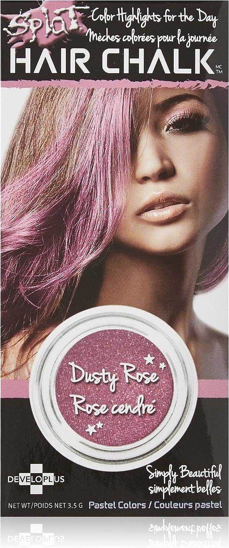 Splat Tiza para el cabello, rosa polvorienta