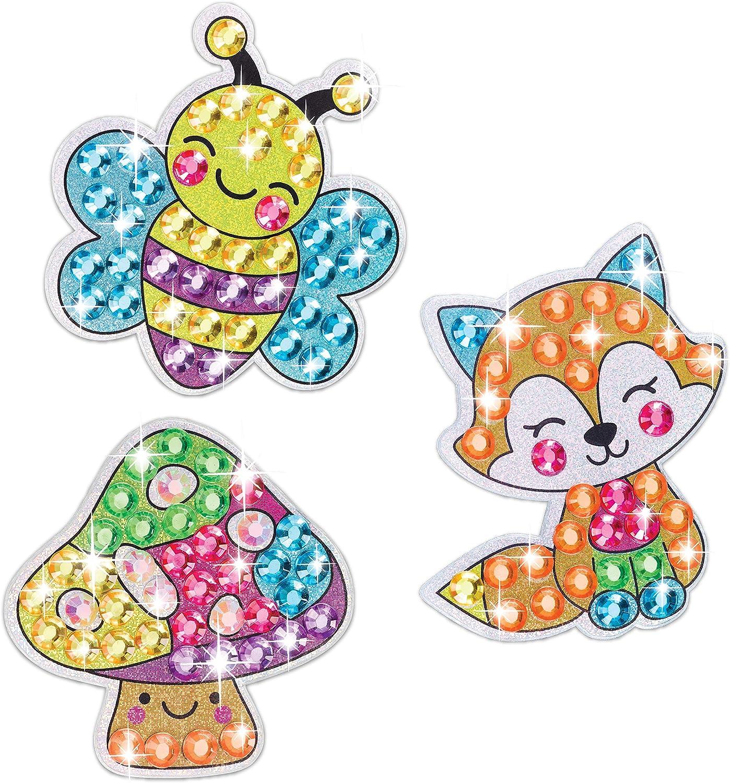 Creativity for Kids Big Gem Diamond Painting Kit Create Your Own Under The Sea Friends Diamond Art Stickers and Suncatchers Mermaid and Sea Diamond Art for Kids