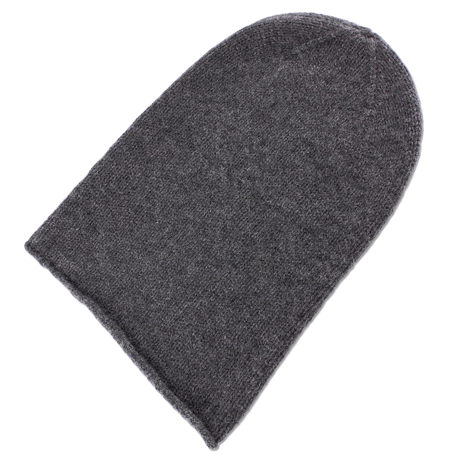 Love Cashmere Mens 100% Cashmere Beanie Hat - Dark Gray - Hand Made in  Scotland RRP  120 at Amazon Men s Clothing store  307e838f7fb