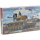 Trumpeter 366 - Alemán Panzerkampfwagen KV-1 756 (r) del tanque [Importado de Alemania]