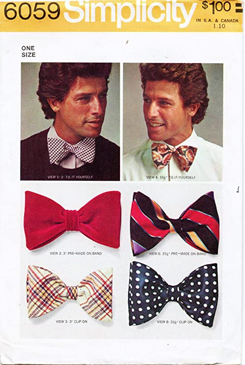 Mens or Boys Sizes New Red White Striped With Stars Clip-On Cotton Bow Tie