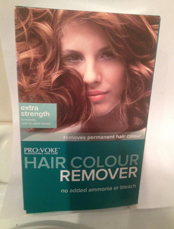 Pro:Voke - Tinte profesional para el cuidado del cabello, removedor de color, extra fortaleza.