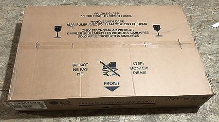 Amazon.com: LG LCE3610SB, anafe eléctrico con placa ...