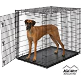 MidWest Homes for Pets XXL Giant Dog Crate | 54-Inch Long Ginormous Dog Crate Ideal for a Great Dane, Mastiff, St…