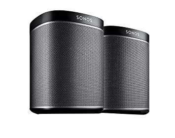 Moderne SONOS PLAY:1 Two Room Starter Set - Black: Amazon.co.uk: Electronics TU-43